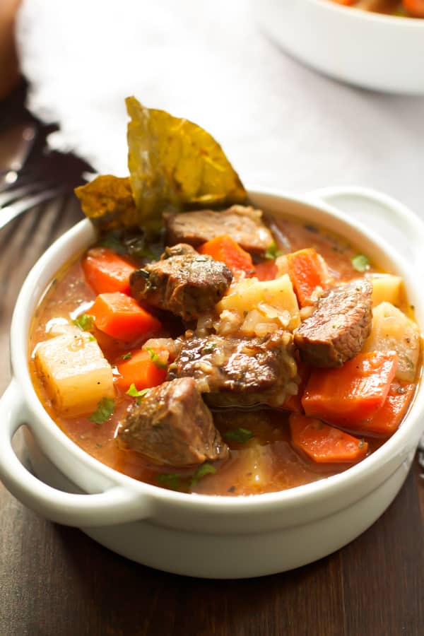 Crock Pot Low in Fat Beef Stew