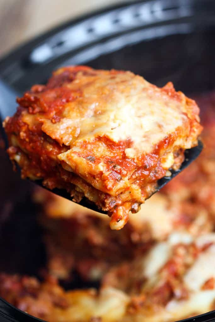 Healthy Slow Cooker Dinner Recipes for Weight Loss Lasagna