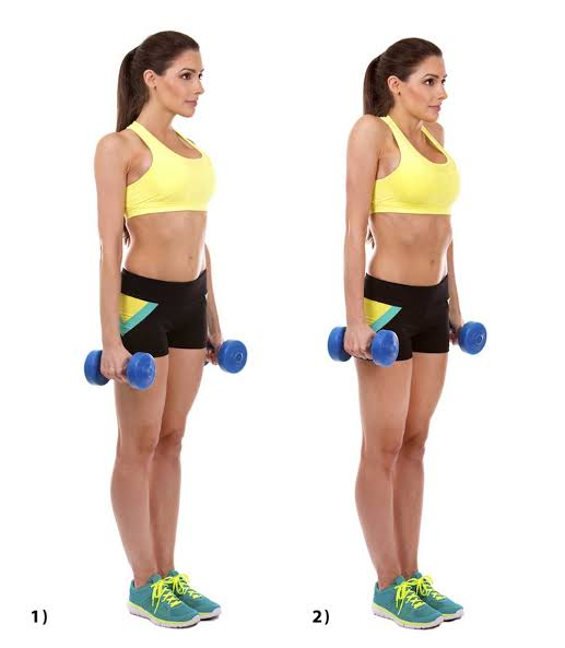 How To Get Rid Of Back Fat shoulder shrugs