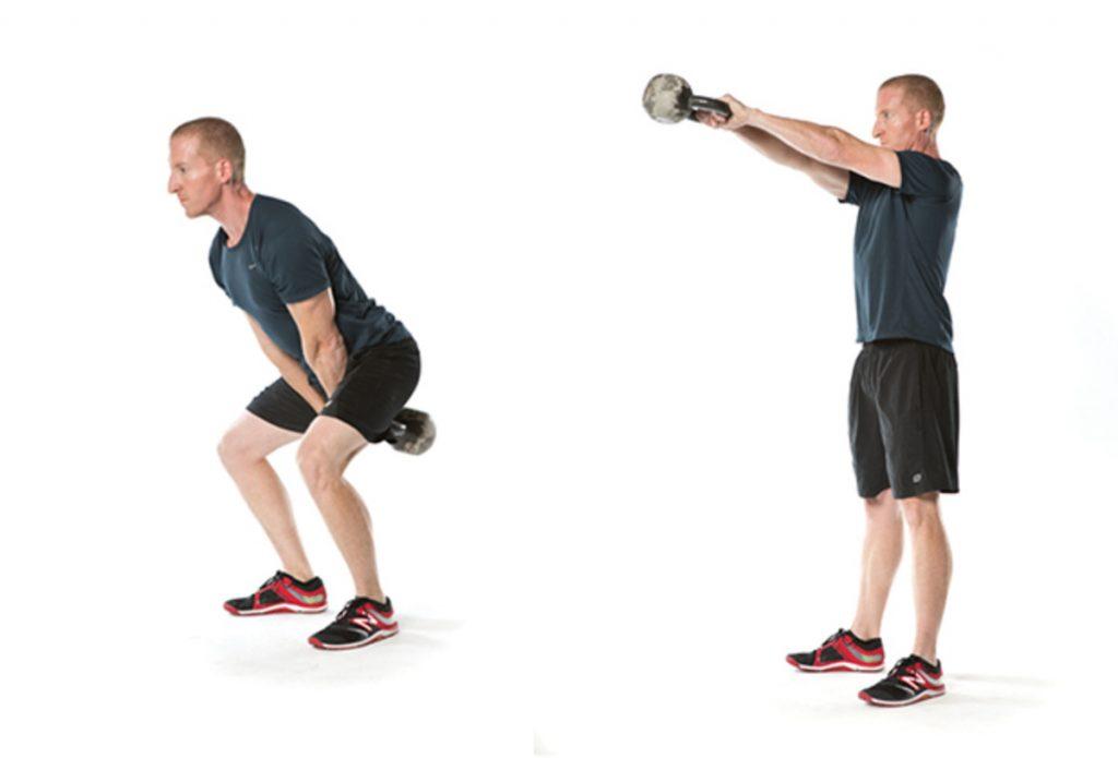 Kettlebell Workouts For Men kettlebell swing