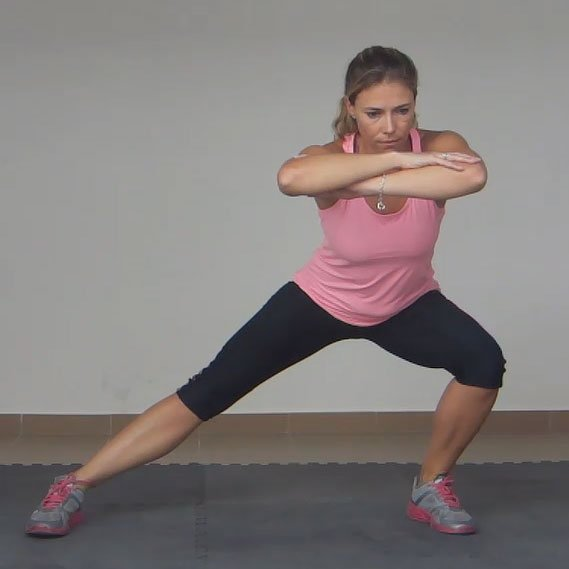 Lateral squats