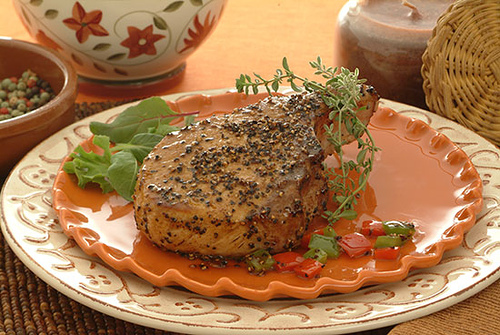 Peppercorn Healthy Pork Chop Recipes