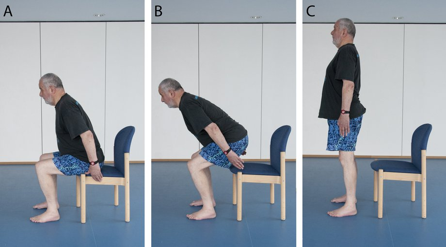 Chair Exercises For Seniors Sit and Stand