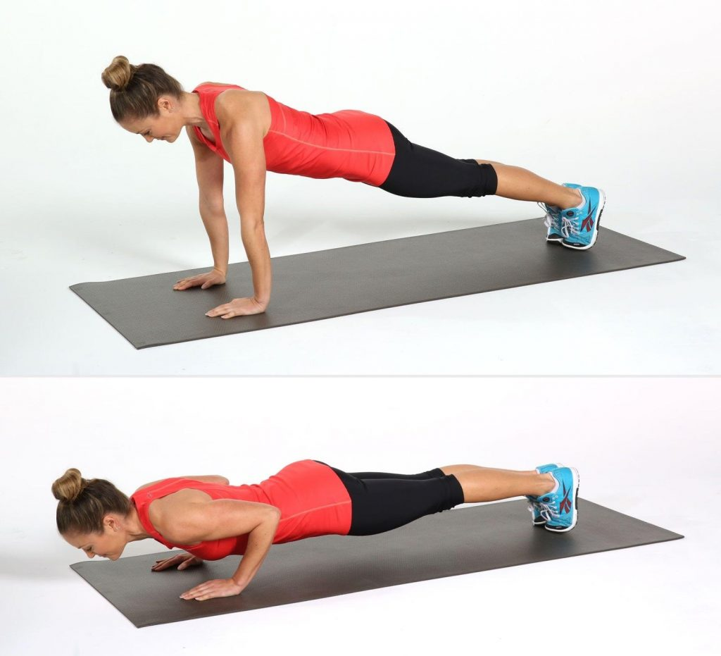 Hiit Workout Routine for Beginners Push-Ups