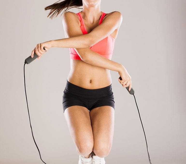 Hiit Workout Routine for Beginners Rope Jump