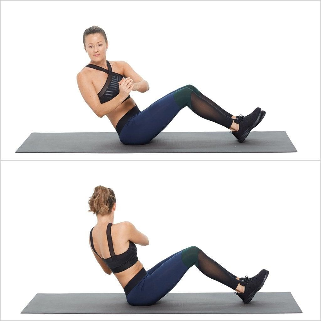 Hiit Workout Routine for Beginners Russian Twist